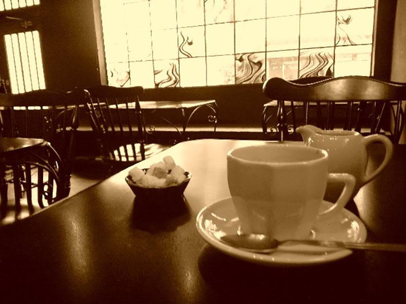喫茶店のイメージ