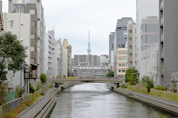 八丁堀の水路