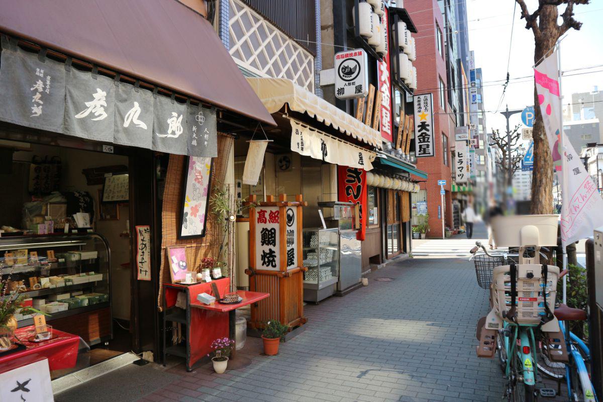 たい焼きの名店「柳屋」
