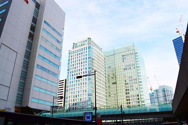 浜松町のオフィスビル