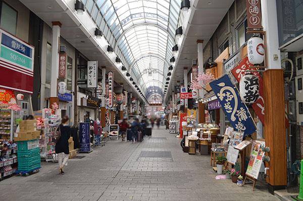 浅草の商店街