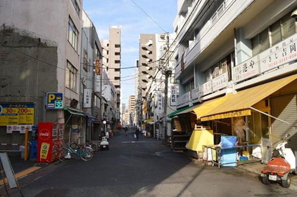 築地の街並み