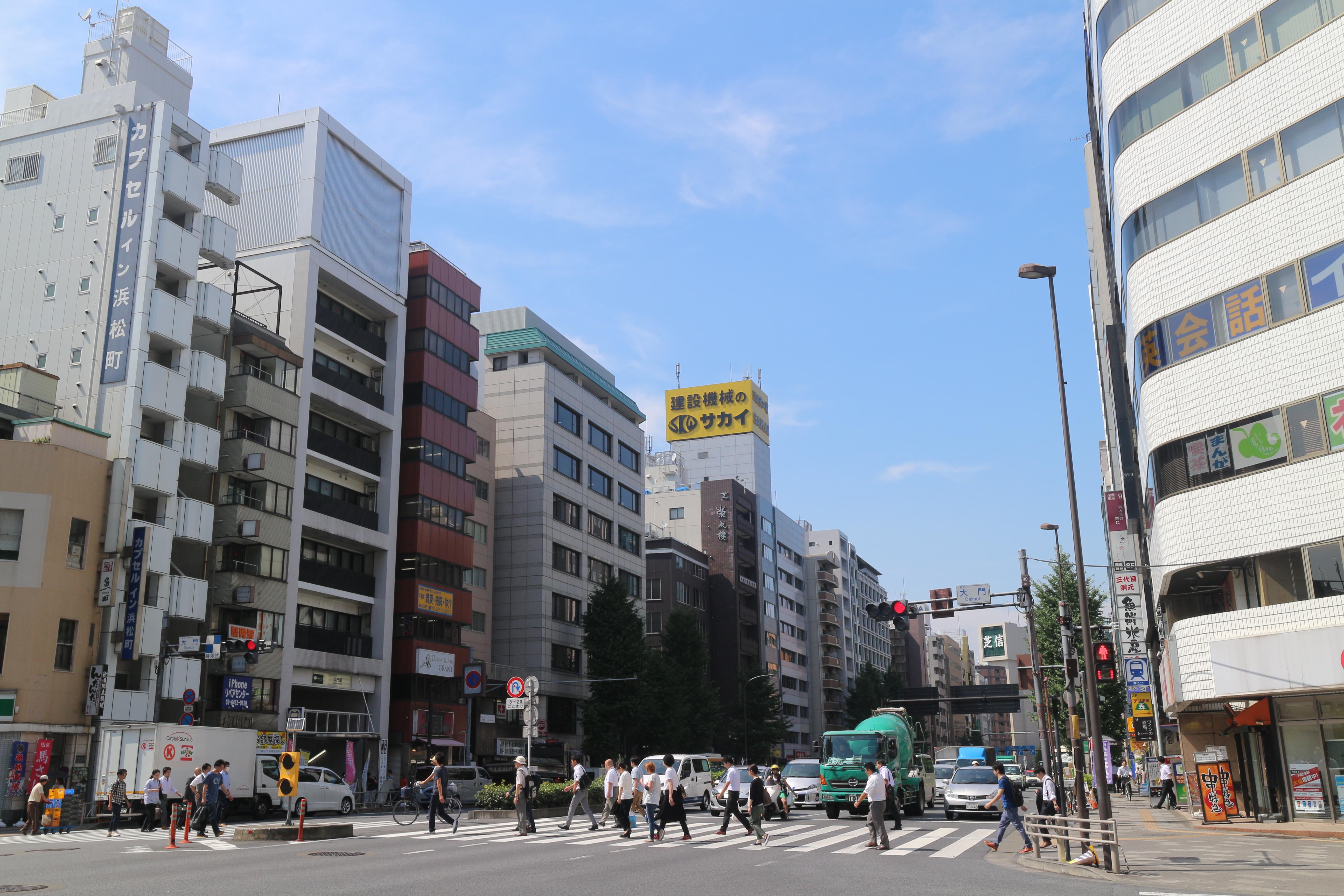 【街レポ】浜松町という街 ~遊環境~