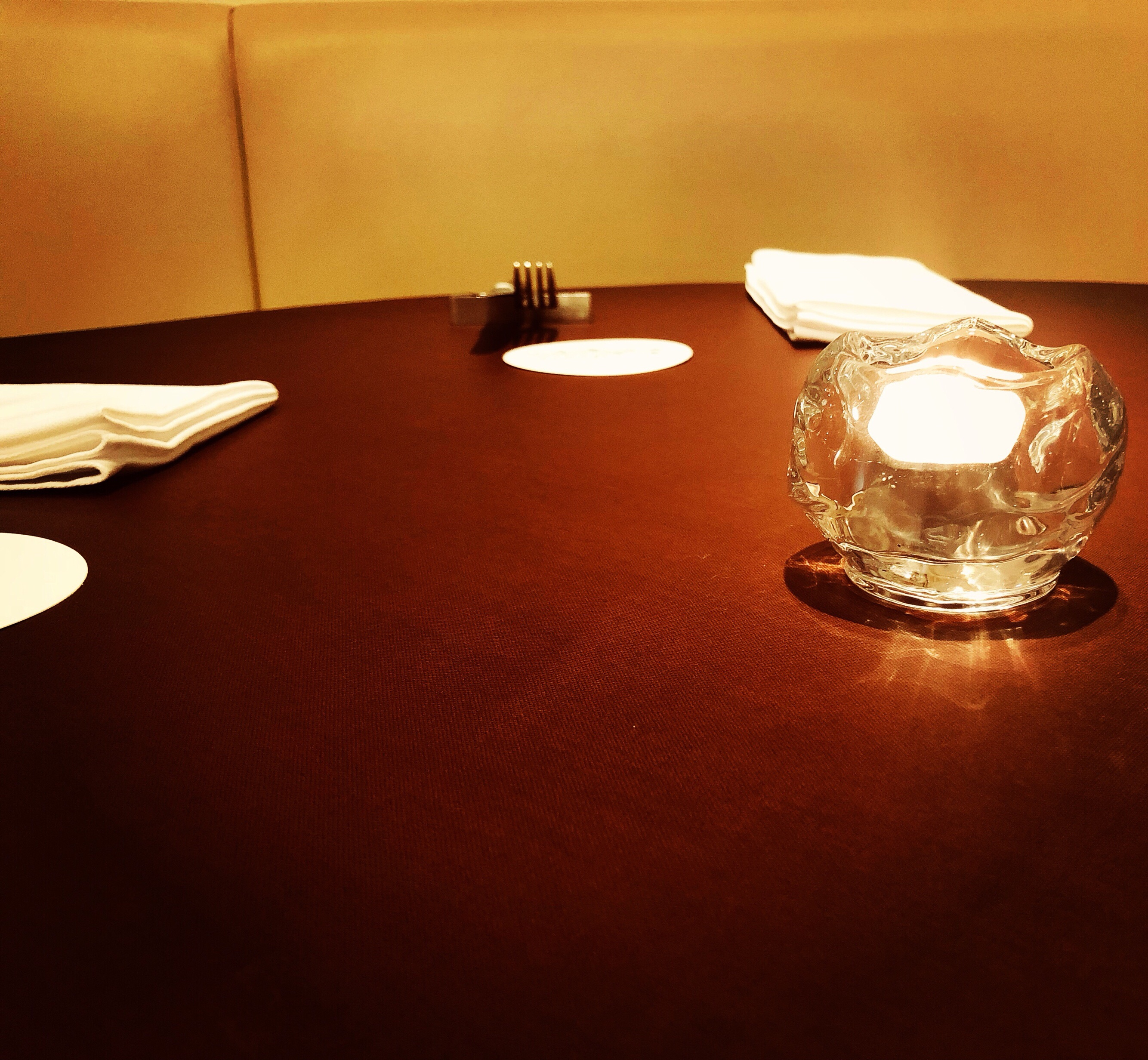 ディナーの雰囲気🌃