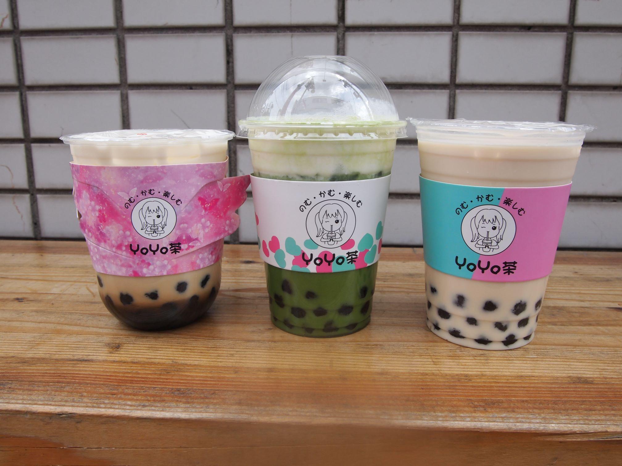 YOYO茶のタピオカドリンク