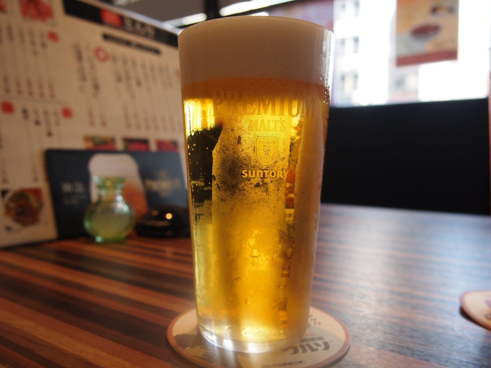 とんりの生ビール