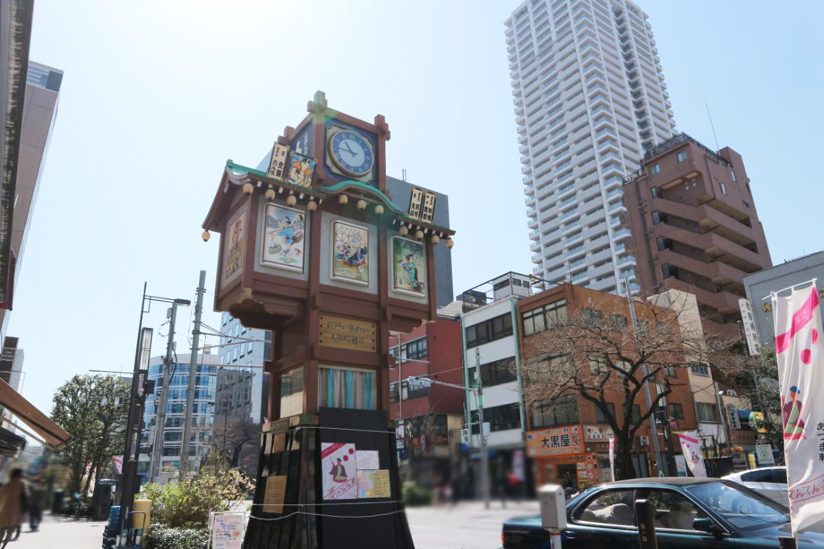 人形町(中央区)で居抜きで飲食店を開業するための街情報