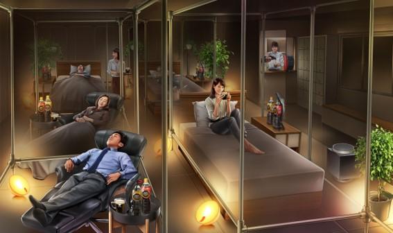 忙しい現代人の睡眠負債を解消!  注目の睡眠カフェが3月より常時営業中!