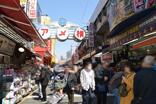御徒町(台東区)で居抜きで飲食店を開業するための街情報