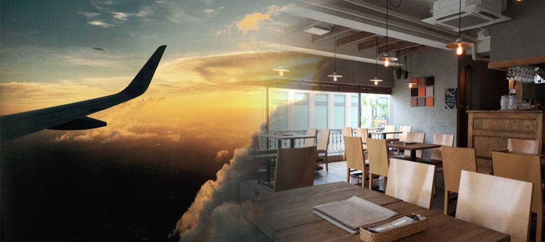 飲食店の店舗でのメニュー価格の設定は航空機と同じ?
