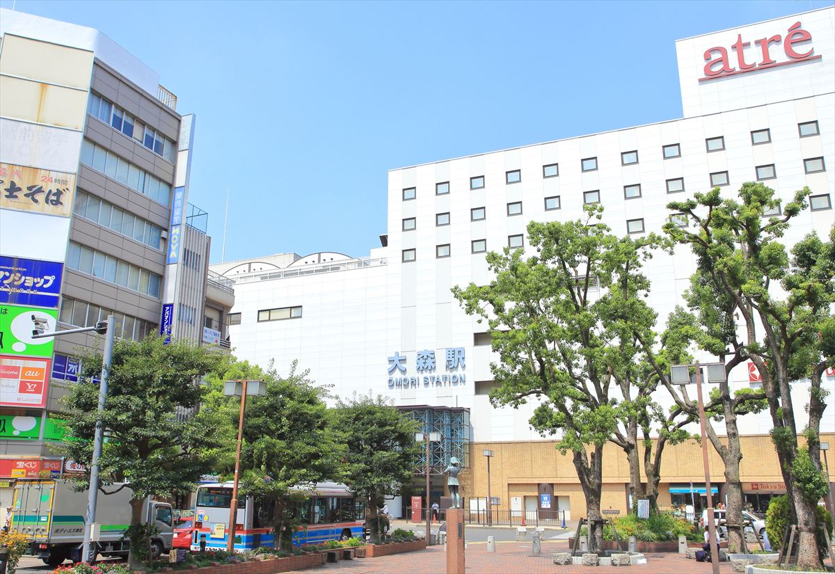 大森(大田区)で居抜きで飲食店を開業するための街情報