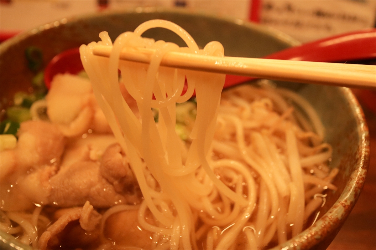半田そうめんは素麺にしては太麺です