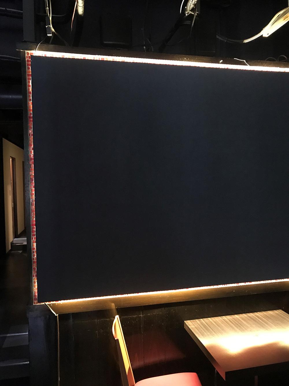 壁面LED取り付け