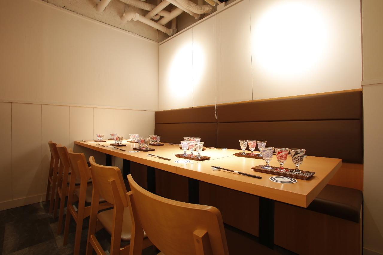 和食日和おさけとのテーブル