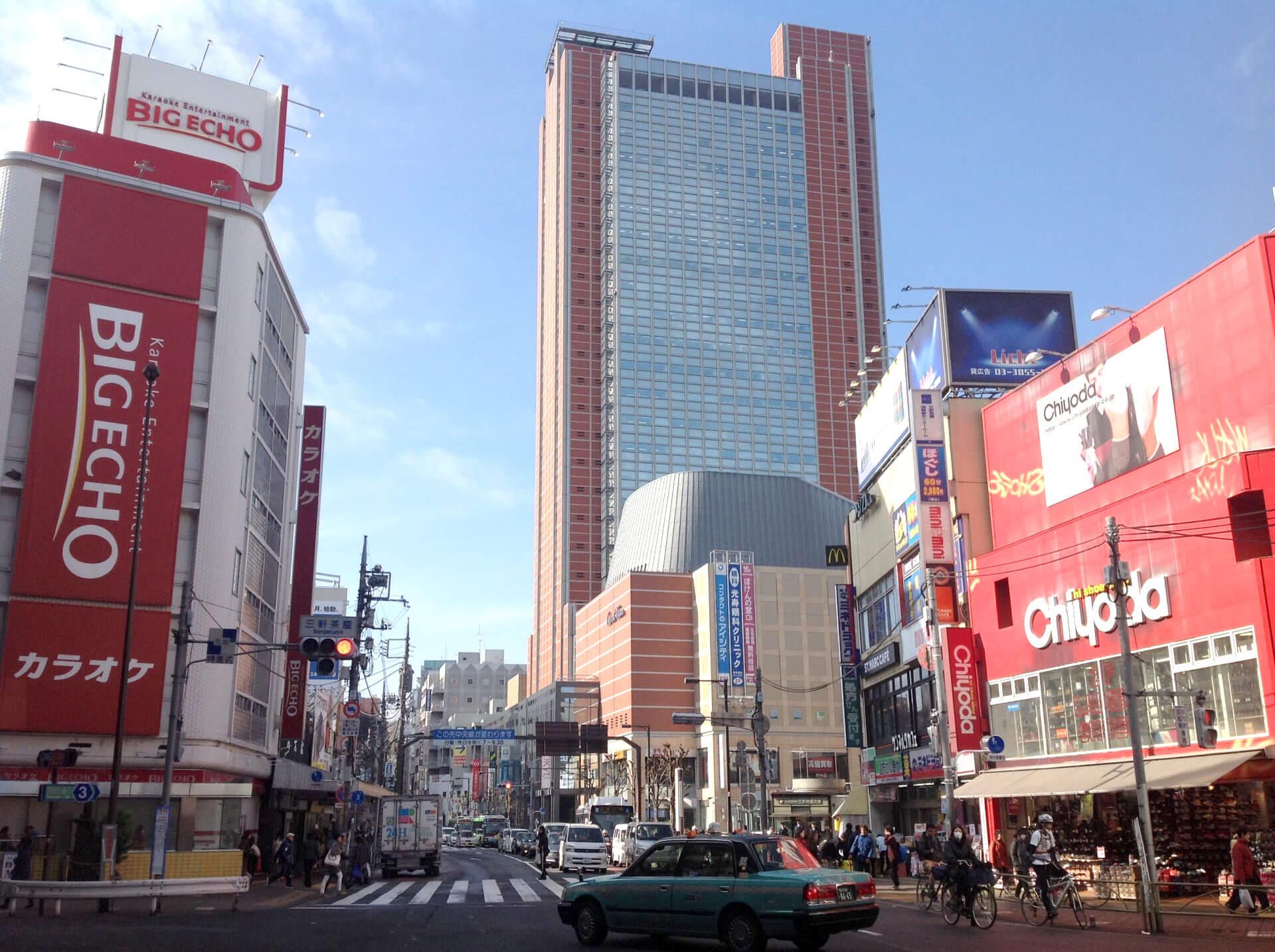 三軒茶屋(世田谷区)で居抜きで飲食店を開業するための街情報